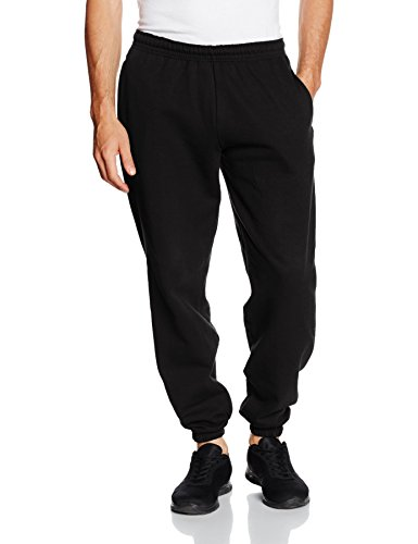 Fruit of the Loom Herren SS031M Sporthose, Black, XL