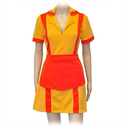 Lvvvs Girl Bankrupt Sister Cosplay Uniform Skirt Bankruptcy Waiter Maid Wear Dress Up Dance, Party Stage Costume (Halloween Anime Girl Dress Up)