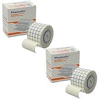 pharmafix Hypoallergener Kleber Elastic Retention Klebeband–2Rollen von 5cm x 10m preisvergleich bei billige-tabletten.eu