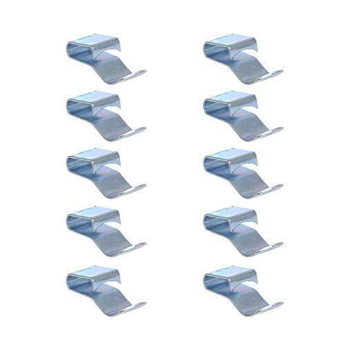 ProPlus chassisklemme für Kabel 28 mm Stahlsilber 10 Stück -