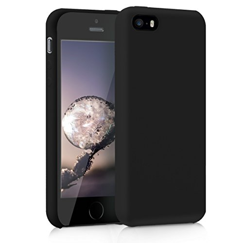kwmobile Apple iPhone SE / 5 / 5S Hülle - Handyhülle für Apple iPhone SE / 5 / 5S - Handy Case in schwarz