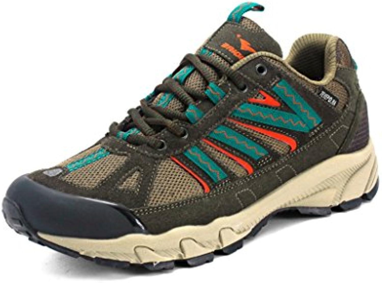 Beauqueen 2017 Otoño Zapatillas Al Aire Libre Parejas Zapatos Low-Top Cómodos Zapatos De Excursión 38-44 (Color  -