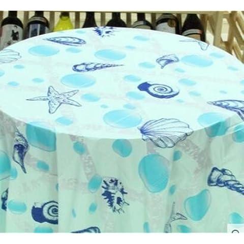 Mesa redonda 1 El mantel tiempo mesas para cumpleaños es agradablemente amuebladas y decoradas ,170*170cm suministros