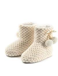 Amazon.it  Beige - Pantofole   Scarpe per bambine e ragazze  Scarpe ... a0ece3f84e0