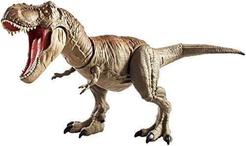 Jurassic World T-Rex Mega-Ataque, dinosaurio de juguete...