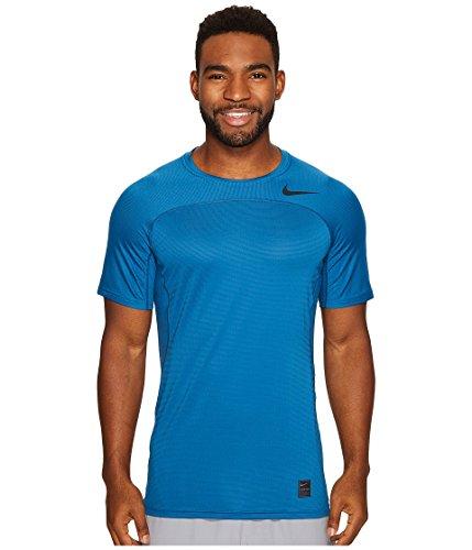 Nike Herren M Np Hpr T-Shirt 457 INDUSTRIAL BLUE/GHOST GREE
