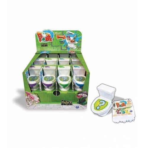 Flush-Force Spinmaster 2er Pack - 1 Toilette + 2 Figuren  -