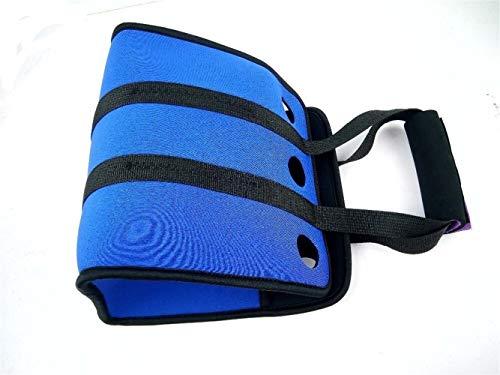 SYYL Outdoor-Neopren 6 Dose Kühler Bier Rucksack Picknickkorb Tasche Set Weinkiste Chillers Gefrorene Hochzeit Flasche PP Geschirr Bar Mittagessen (Color : Blue) - Flasche Chiller