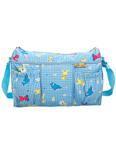Mee Mee Multifunctional Diaper Bag with Pockets (Blue)