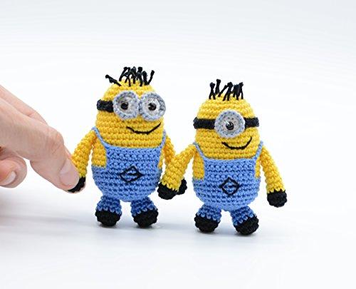Schlüsselanhänger Minions, Bob und Stuart, Despicable Me Movie, Kuscheltier Minions