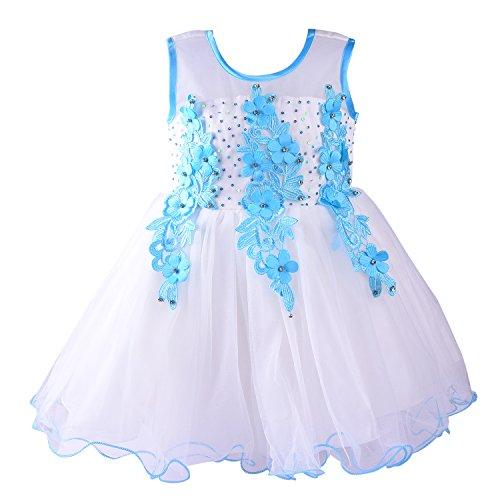 Wish Karo baby girls Frock Dress DN bx53blu