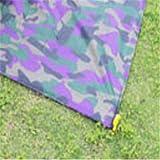 QWEASDZX Tapis De Camouflage De Poche pour Pique-Nique Grand Coussin De Lumière Pliable Léger pour Ordinateur Portable Étanche sur Tapis De Plage Imperméable E 150X140cm