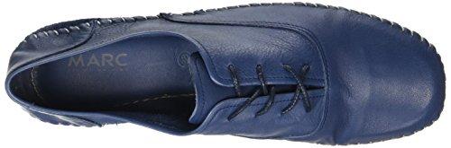 Marc Shoes Luna, Derby femme Bleu - Blau (navy 795)