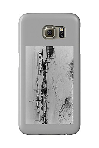 Corpus Christi, Texas - Padre Island (Galaxy S6 Cell Phone Case, Slim Barely There)