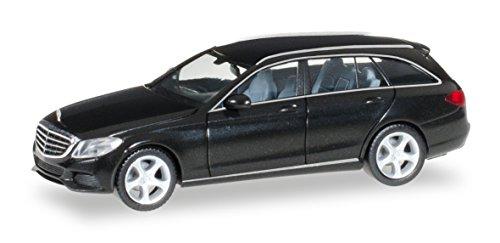 Herpa 038393-003 - Mercedes Benz C Klasse T Modell Elegance, Fahrzeuge, schwarz/metallic