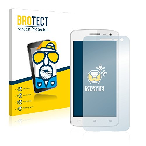 BROTECT Schutzfolie Matt für Elephone G3 [2er Pack] - Anti-Reflex