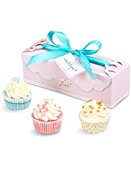 Badefee Geschenkset Cupcake Pearls
