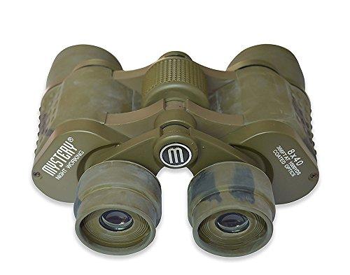 flyproshop 8x 40HD Prismáticos 8x 40Zoom Prismáticos Disruptive Pattern visión nocturna telescopio Zoom de alta potencia prismáticos plegable prismáticos para exteriores concierto Birding, viajar, turismo, caza, etc, W/funda de transporte y correa camuflaje camuflaje verde