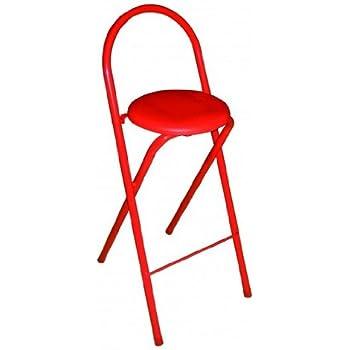 Link 50901400 sedia alta da bar bianco casa e cucina - Taburete bar plegable ...