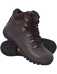 Mountain Warehouse Chaussures Femme Montantes Cuir Bottes Imperméables Brecon