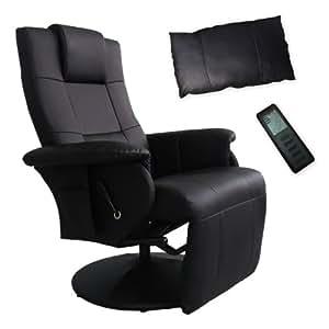 fernsehsessel massagesessel relaxsessel sessel shiatsu massage schwarz k che haushalt. Black Bedroom Furniture Sets. Home Design Ideas
