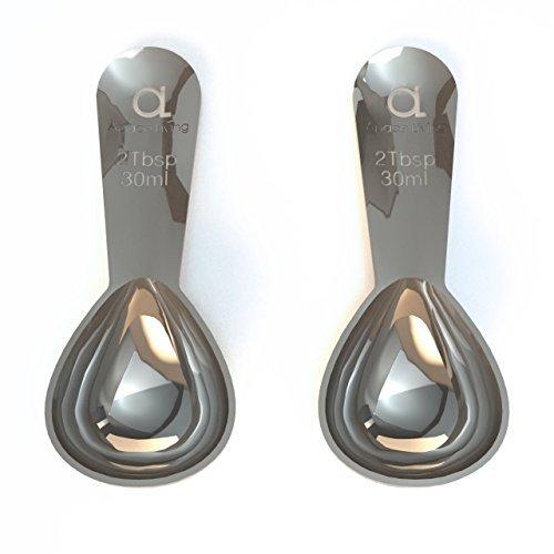 Premium Coffee scoop-2cucchiaio (tbsp)-The Best in acciaio INOX dosatore per
