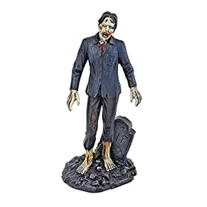 Design Toscano Wandelnde tote Zombies, Figurenkollektion: Zombie mit Grabstein