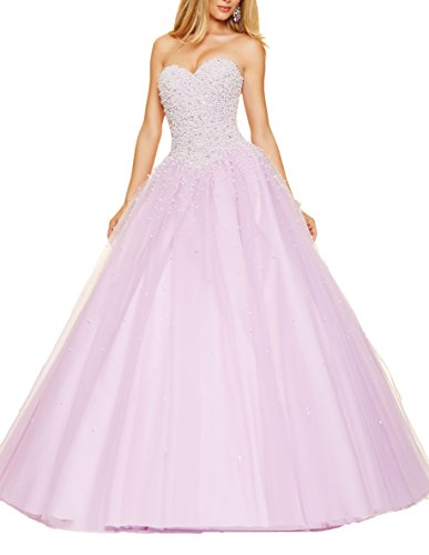 Bridal_Mall - Robe de mariage - ball gown - Femme Violet - Violet clair
