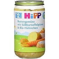 Hipp Buttergemüse mit Süßkartoffelpüree und Bio-Hühnchen, 250 g