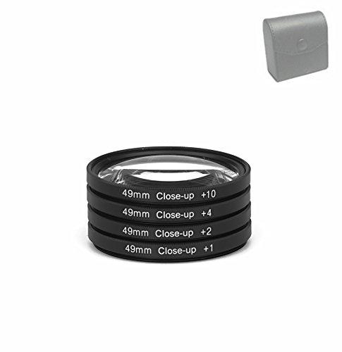 49mm Close-Up Filter Set +1+2 +4 +10 Makrolinse Nahlinse Close Up 49 mm Close Up Digital Kamera