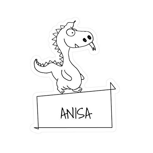 Preisvergleich Produktbild JOllipets Baby Kinder Aufkleber - ANISA - Variante: Tiere Zoo – Farbe: Design: Drache
