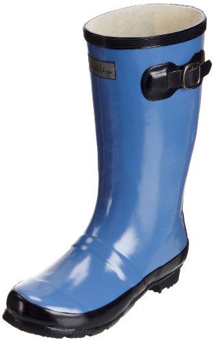 Hatley  Nordic Rain Drops, Bottes de pluie Fille Bleu - Nauty Navy