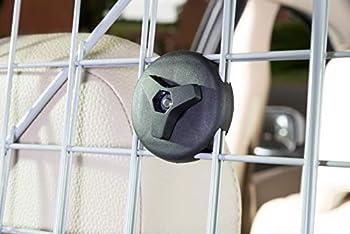 Auto Companion Grille de séparation pour chien en métal à fixer aux appuis-tête