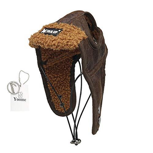 r Hut, einstellbare Hund Wintermütze Ohrlöcher Winddicht weichen warmen Hund Kostüme Hut ()