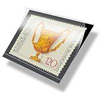 Lindner HA1052 hawid® Klemmtaschen Streifen-schwarz 210 x 52 mm