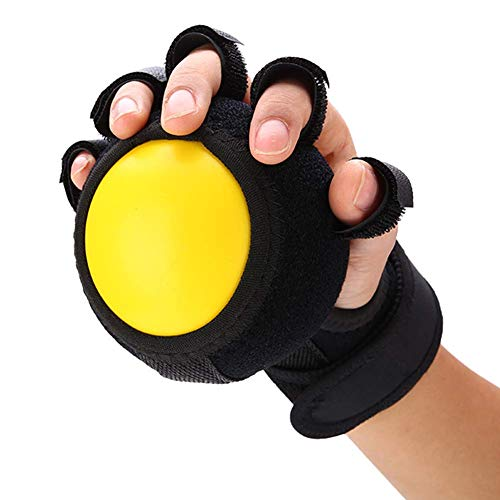 Ball Schiene (greifkraft ball finger gerät trainingsgeräte anti - spastik ball schienen finger orthese für hand funktionsstörung/se/schlaganfall)