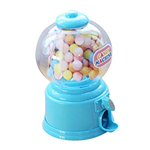Sharplace Coin Bank Dispenser Gumball Machine in Plastica ABS Articoli da Regalo e Scherzetti - Blu