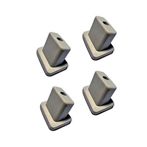4er SET Gummifüße für Contura 3 Allesschneider von ritter