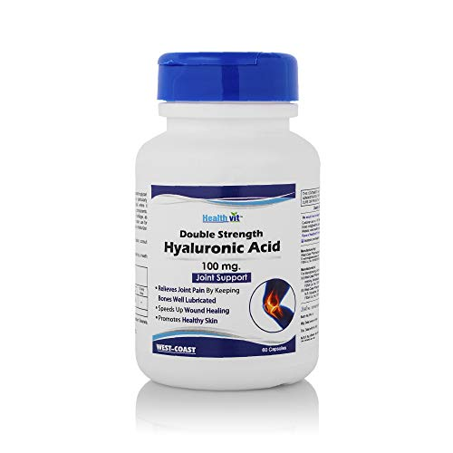 Healthvit Double Strength Hyaluronic Acid 100 Mg Capsules - 60 Count