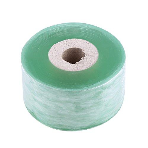 1 Roll PVC Fruchtbaum Pfropfen Tape Green Haushalt Secateurs Engraft Zweig Gartenarbeit Werkzeug 3CM × 100M