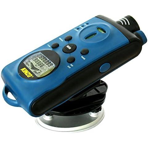 HANDTOOLS 5 EN 1 – Medidor de distancia láser y detector KINZO (Herramienta profesional de bricolaje y taller) mws2079