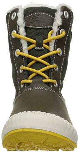 Keen Damenschuhe ELSA BOOT WP W 1015457 Damen Trekkingschuhe, Wanderstiefel, Stiefel, Boots Grau (beluga)