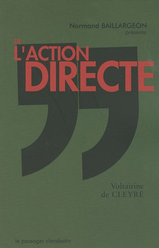 De l'action directe : (Suivi de Où nous en sommes) par Voltairine de Cleyre