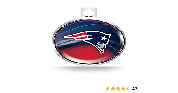 Nfl New England Patriots Metallic Team Logo Sticker Bekleidung