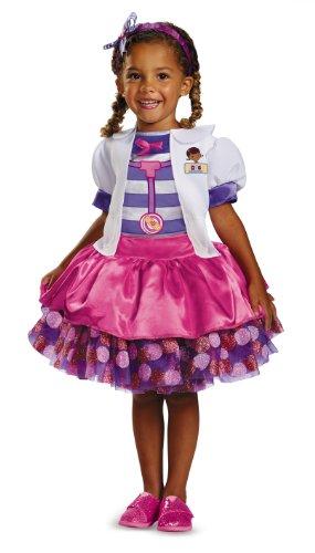 Doc McStuffins Disney Deluxe Doc McStuffins Tutu Child Toddler Costume 7-8