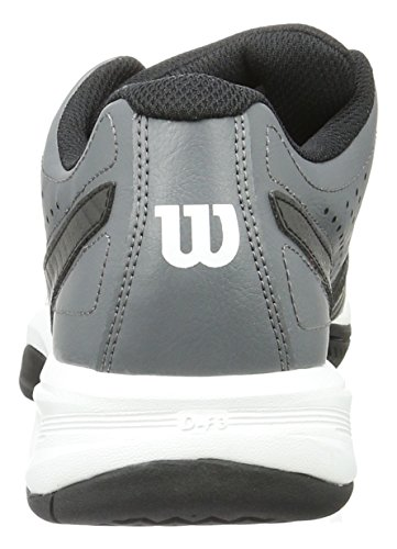 Wilson Rush Open 2.0, Chaussures de Tennis Homme Multicolore (iron GATE/Black/White)