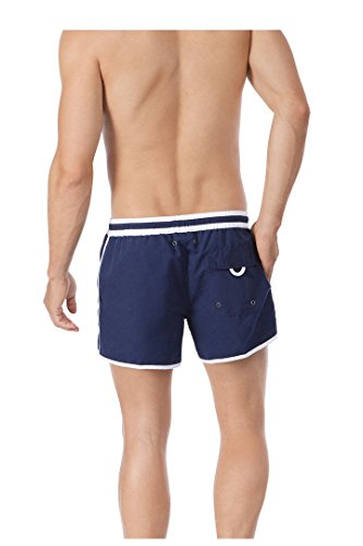 Skiny Short Mix Swim Shorts S bis 2XL Navy und Red Doppelpack Navy