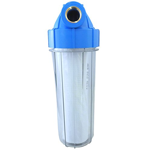 Transparentes Filtergehäuse 10