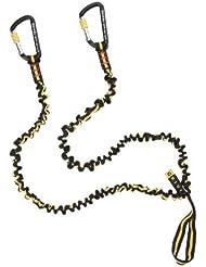 Grivel para Mujer, Hombre y correa de seguridad, color Negro - negro y amarillo, tamaño talla única