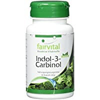 Preisvergleich für Indol-3-Carbinol - für 1 Monat - VEGAN - HOCHDOSIERT - 60 Kapseln - mit Brokkoli-Pulver - I3C